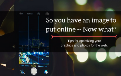 So you have an image to put online — Now what?