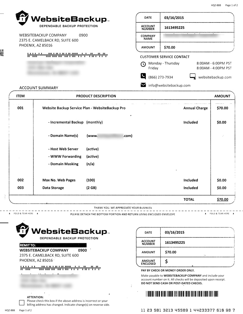 beware the fake invoice scam networks plus networks plus