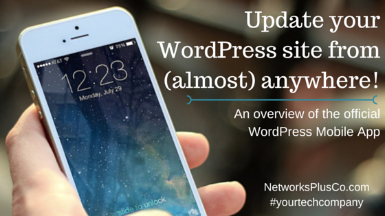 Update your  WordPress site from