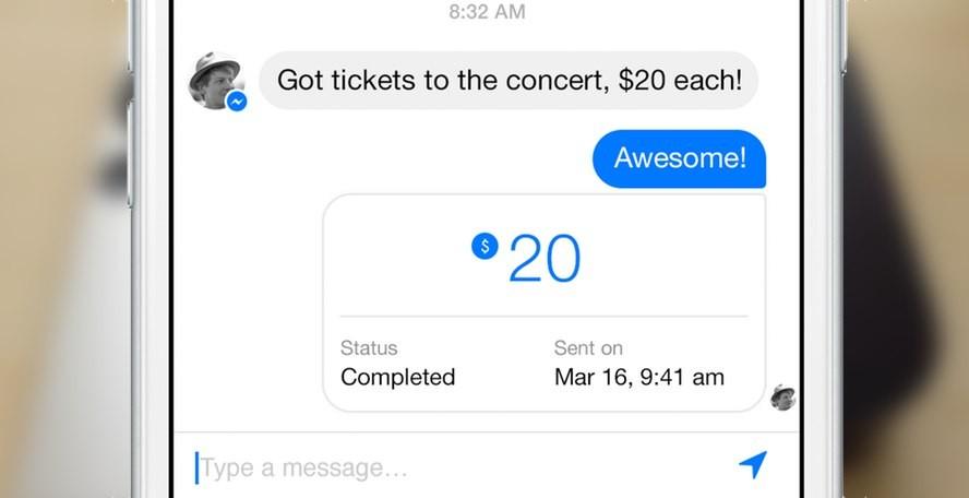 Send Money Through Facebook Messenger