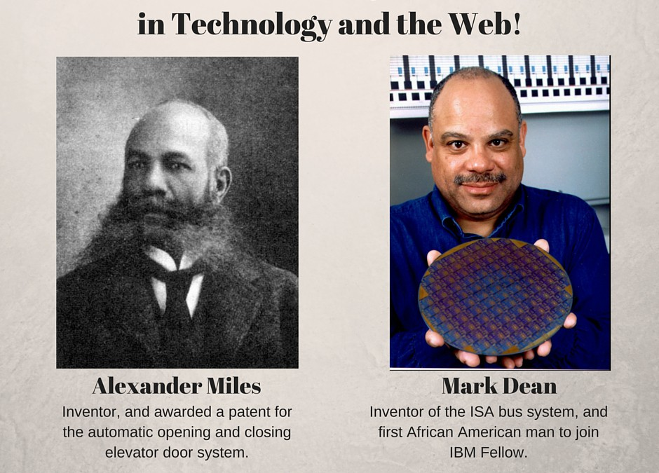 #BlackHistoryMonth in Technology and Web!