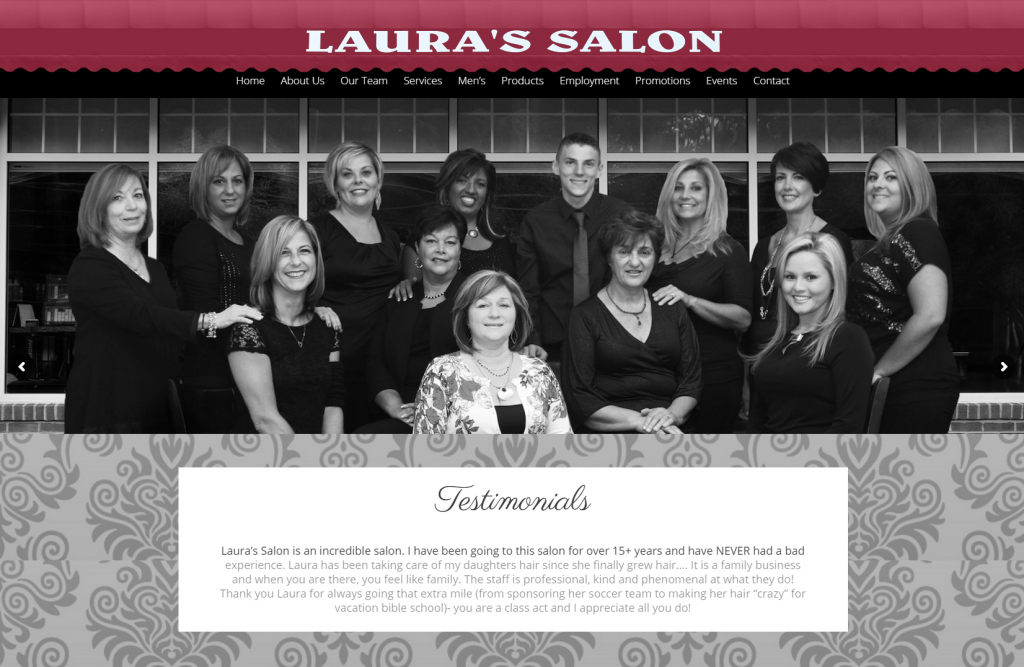 Laura s Salon Your satisfaction is our 2goal