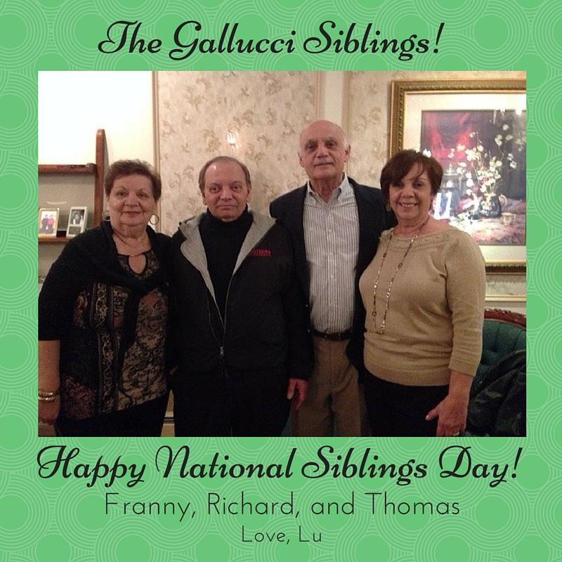 The Gallucci Siblings! (2)
