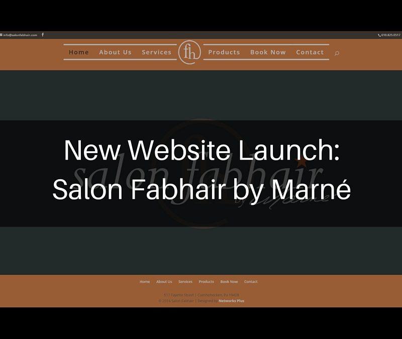New Launch: Salon Fabhair by Marné