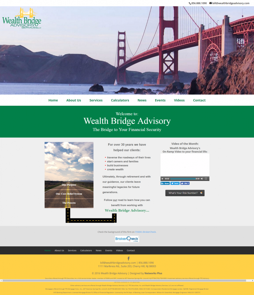 desktop Wealth Bridge Advisory Services The Bridge to Your Financial Security