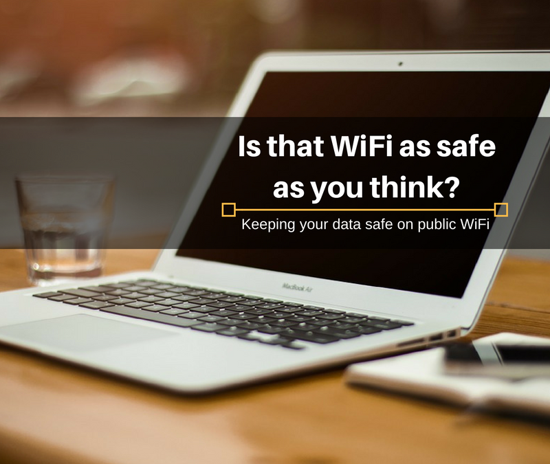 Is that wonderful free WiFi as secure as you think?