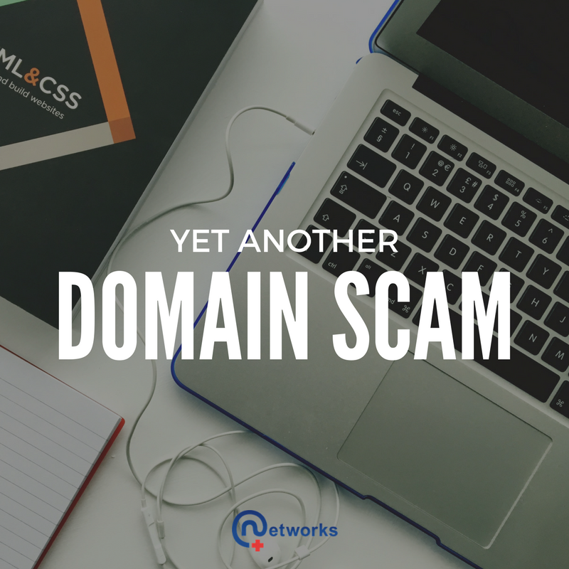 Domain Name Scam