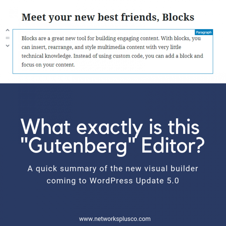 What Exactly is this Gutenberg Editor?